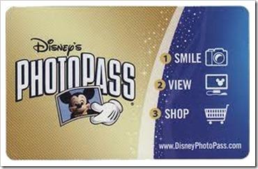 Cartão Photopass